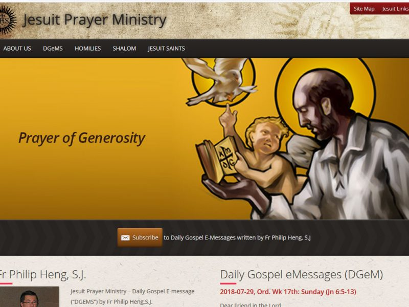 Jesuit Prayer Ministry
