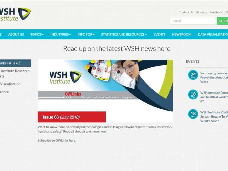 Workplace Safety and Health Institute (WSHI)